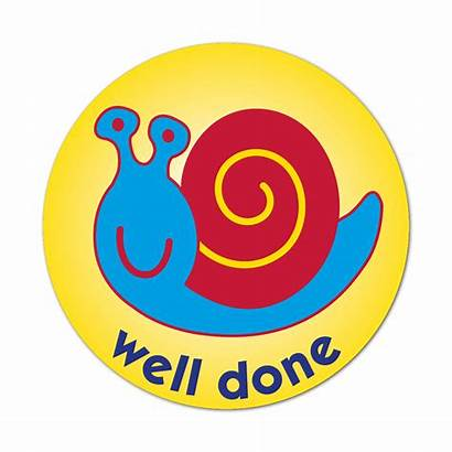 Done Well Stickers Snail Superstickers 38mm