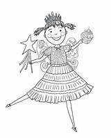 Pinkalicious Coloring Pages Pink Cupcakes Printable Print Amelia Bedelia Cupcake Drawing Birthday Printables Colouring Supercoloring Characters Crafts Ballerina Select Category sketch template