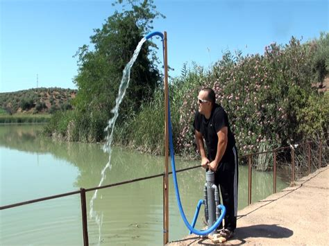 bomba de agua manual  manual water pump home  youtube