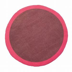 tapis rond lumbini 120 cm ultra rose amethyste tl002 ur a With tapis rond 120