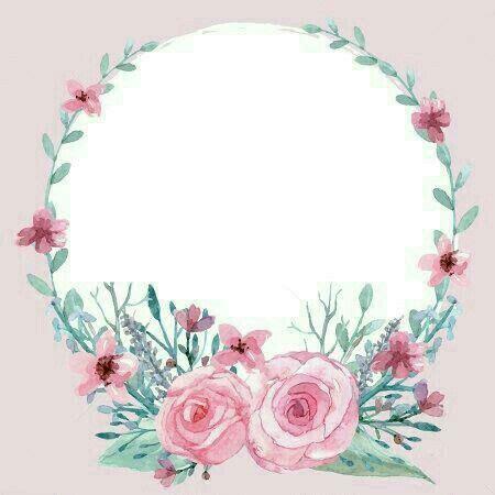 pin  batool  anime  images flower frame
