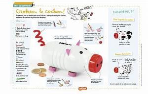 Faire Une Tirelire : crocksou le cochon tirelire un bricolage pour les enfants partir d 39 une bouteille de lait ~ Nature-et-papiers.com Idées de Décoration