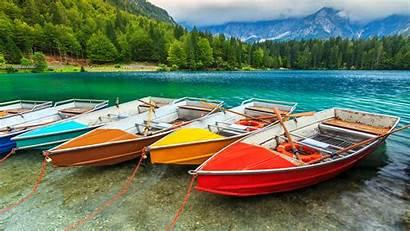 Windows 4k Peapix Theme Boat Colorful Boats