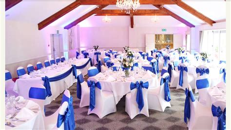 wedding and event venue decorators in wales chair covers led floors light backdrops and