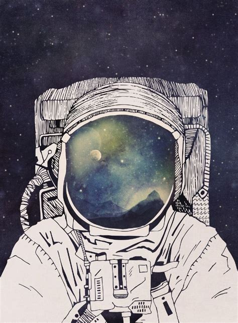 astronaut in space drawing 25 best astronaut illustration ideas on