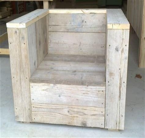fauteuil en bois de palette palette bois pinterest