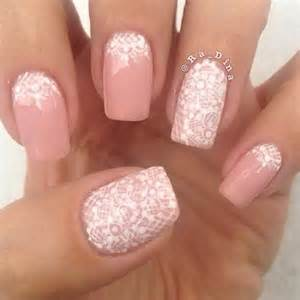 Pink and white gel nail designs art ideas