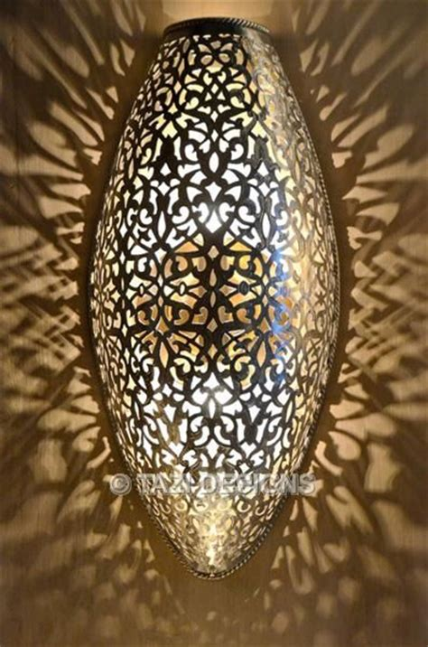 pierced moroccan sconce wall light beautiful
