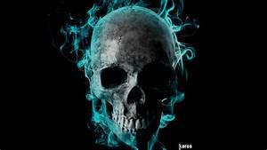 Flaming Skull by romulocarrijo on DeviantArt