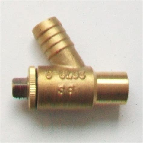 heavy mm compression soldered drain  valve