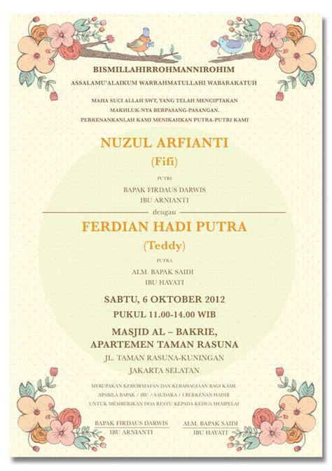 konsep undangan pernikahan indonesia fifi teddy