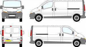 Trafic van vauxhall vivaro swb swing doors 2000 08 for Van sign writing templates