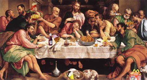 cuisine antique romaine last supper in advertising the inspiration room