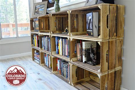 Apple Crate Bookcase by Get Inspired