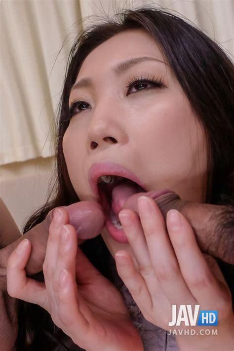Sleazy Asian Babe Naomi Sugawara Knows How To Suck Cock
