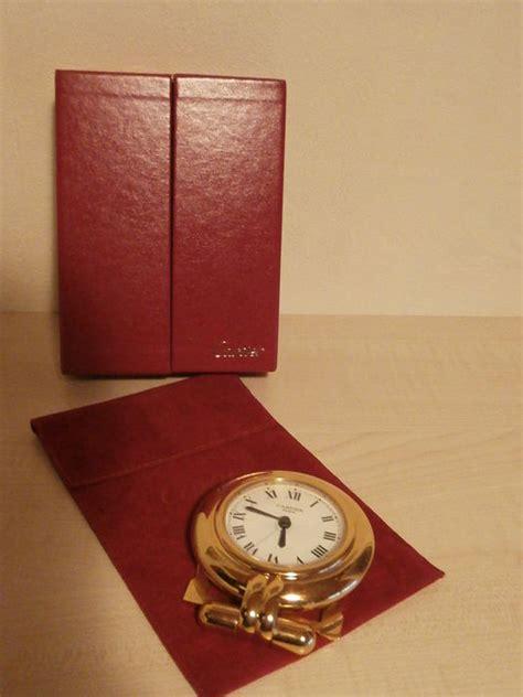pendulette de bureau pendulette cartier horloge de bureau catawiki
