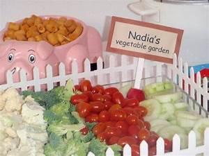 Farm Barnyard Birthday Party Ideas Veggie Tray