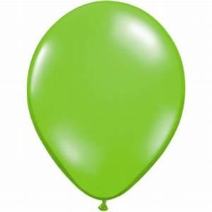 Fashion Colour Lime Green Balloons