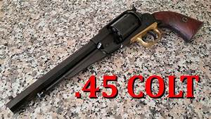 Pietta 1858 New Army 45 Long Colt Conversion Cylinder Review