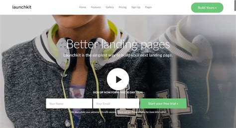 Best Landing Pages 2017 5 Best Landing Page Themes 2017 Themetwins