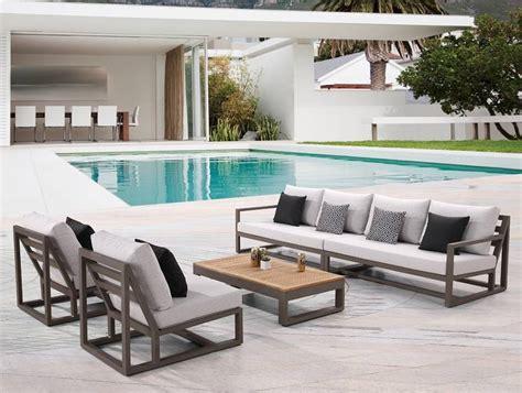 sunbrella fabric by the babmar modern patio furniture contemporary outdoor