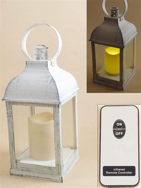 Lanterne Con Candele by Lanterna Con Candela Fiamma Finta A 3 Pile Con Telecomando