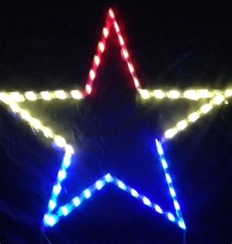 led outdoor christmas decorations lighted star