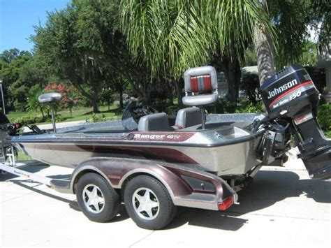 Used Ranger Boat Trailers For Sale by 1997 Ranger Bass Boat Boats For Sale