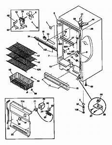 33 Kenmore Freezer Parts Diagram