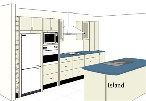 kitchen floor plans islands inspiring kitchen layout island top ideas 6608