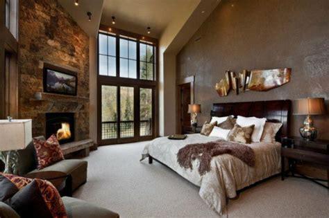 chambre style montagne l esprit montagne reflété dans une chambre rustique