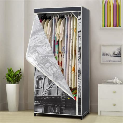 Cloth Storage Wardrobe by Ikayaa Us Uk Fr Stock Cloth Wardrobe Wardrobe Cabinet
