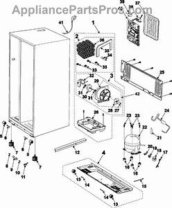 Parts For Samsung Rs2630sh  Machine Compartment