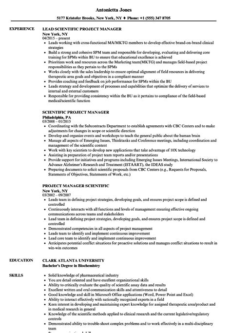 biotechnology skills  resume templates