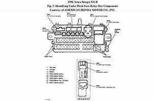 1995 Acura Integra Fuse Diagram
