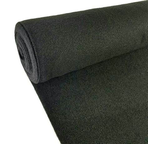 Car Upholstery Carpet by 5 Yards Black Upholstery Durable Un Backed Automotive Trim