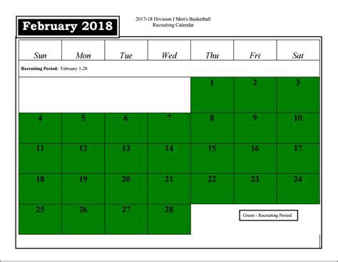 february recruiting calendar pcbbcom providence college