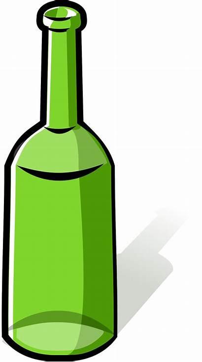 Bottle Empty Clipart Clip Vector