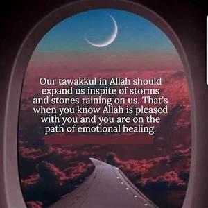 Tawakkul in All... Allah Tawakkul Quotes