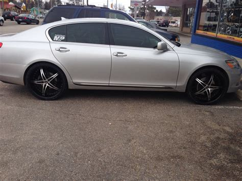 lexus rims 22 22 inch rims on 2007 gs350 club lexus forums