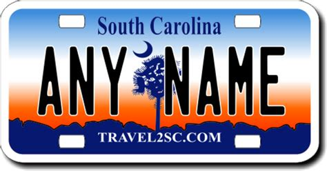 Vanity Plates Sc by Personalized South Carolina License Plate For Bicycles