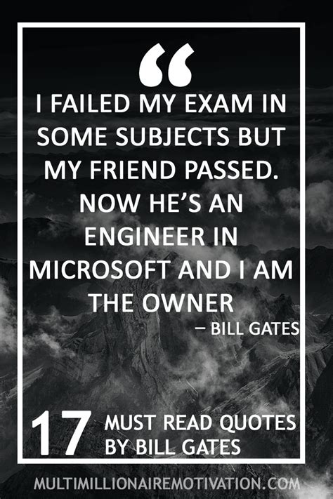 17 Must Read Quotes by Bill Gates | Multi-Millionaire ...
