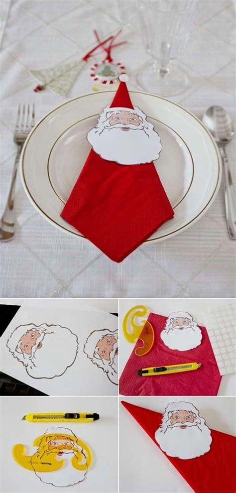 creative napkin ideas   christmas dining table