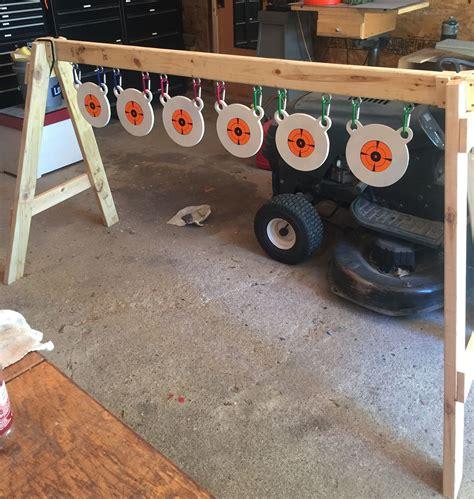poor mans plate rack shooting targets diy outdoor shooting range