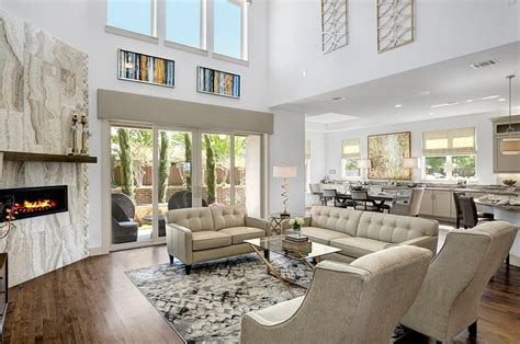 Offene Galerie Haus by Gehan Homes New Home Living Room Gallery