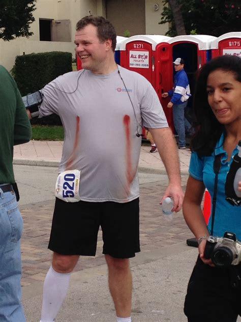 Man After Running Marathonlooks Comfortable Wtf