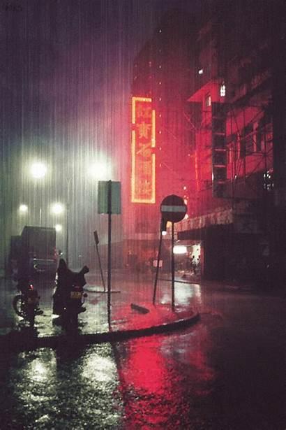 Rain Gifs Animated Positive Energy Rainy Kouki