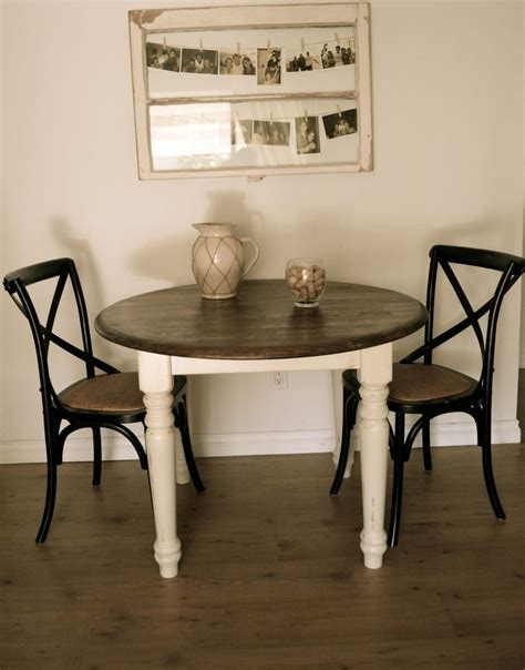 farmhouse style round dining table pin by heather hutto on furniture ideas pinterest