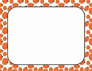 Pumpkin Border Clip Art - Cliparts.co