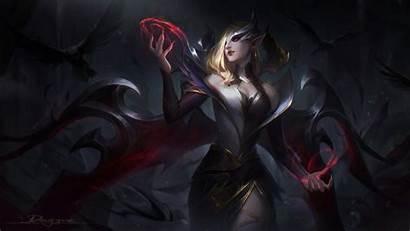 Morgana Coven Lol 4k League Legends Games